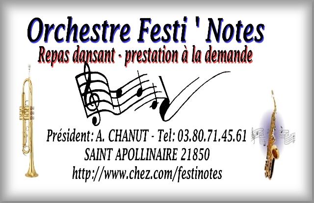 Orchestre FESTI NOTES DIJON